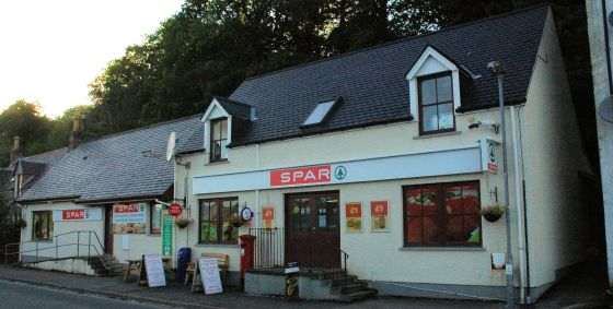 The Spar Shop filling station is open 24 hours a day using card-operated pumps.